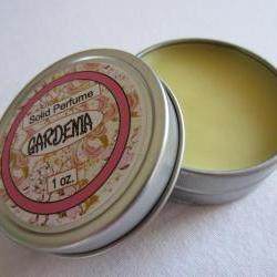 Gardenia Solid Perfume Tin